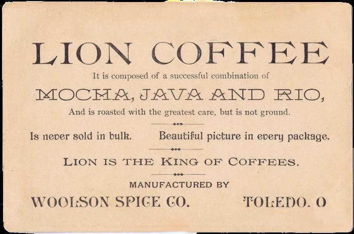 Antique Trade Card