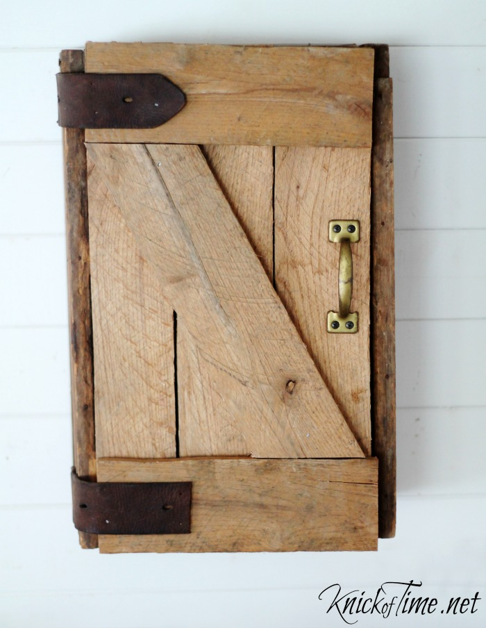 Diy Barn Door Wall Cabinet Via Knickoftime Net