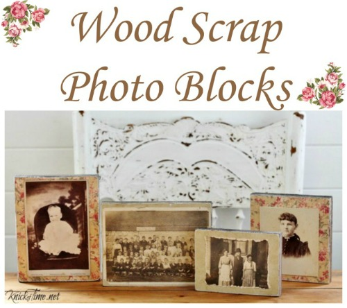 Wood Photo Blocks