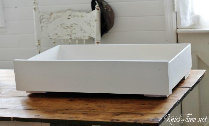 drawer dog bed