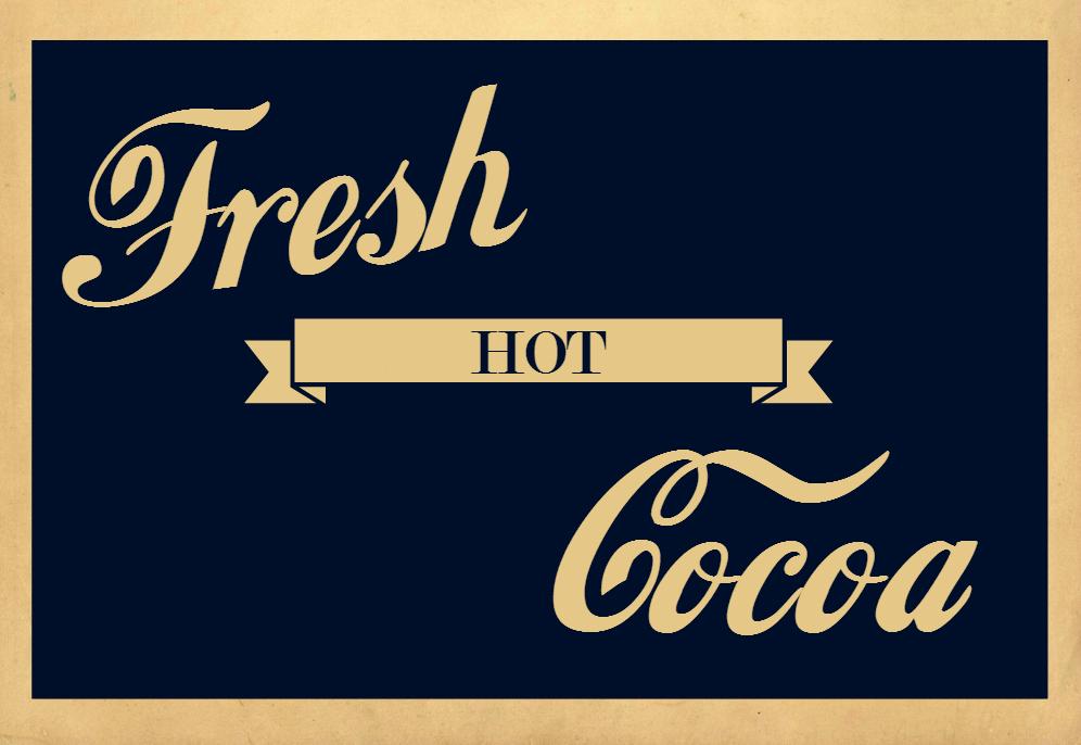 cocoa sign