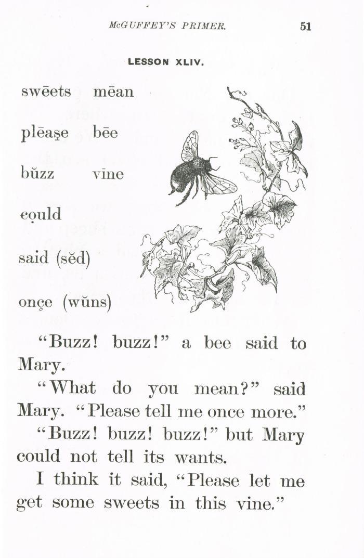 McGuffey's Reader Primer