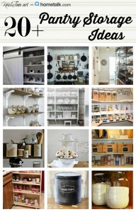 DIY Pantry Storage and Decor Ideas
