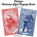 Victorian Cards Printables from KnickofTime.net