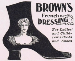 Antique Advertisement Image – Brown's French Dressing
