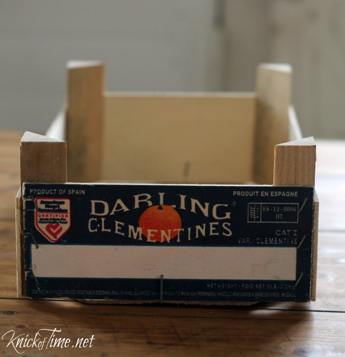 clementine crate