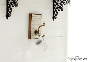 Sweet and Simple Wood Scrap Wall Hook