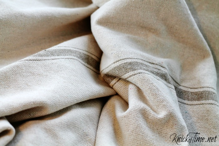 grain sack fabric
