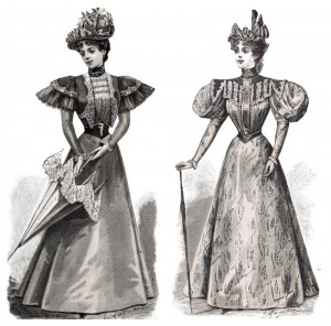 1800's Fashions Summer Gowns