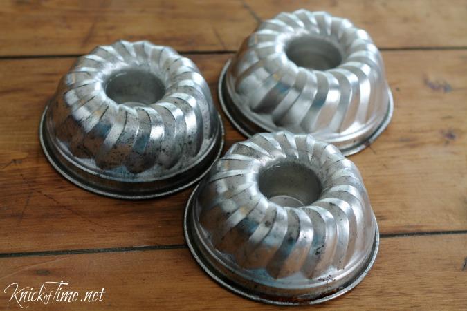 vintage bundt pans