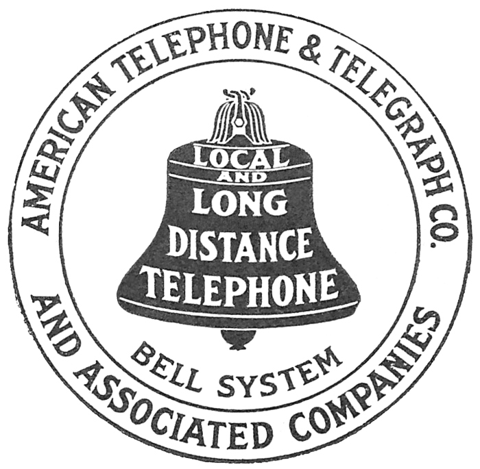 antique telephone advertisement
