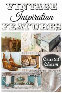Vintage Inspiration Party #182 – Repurposed Vintage Decor!