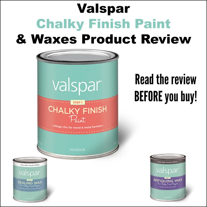 Valspar Chalky Finish Paint Review - KnickofTime.net