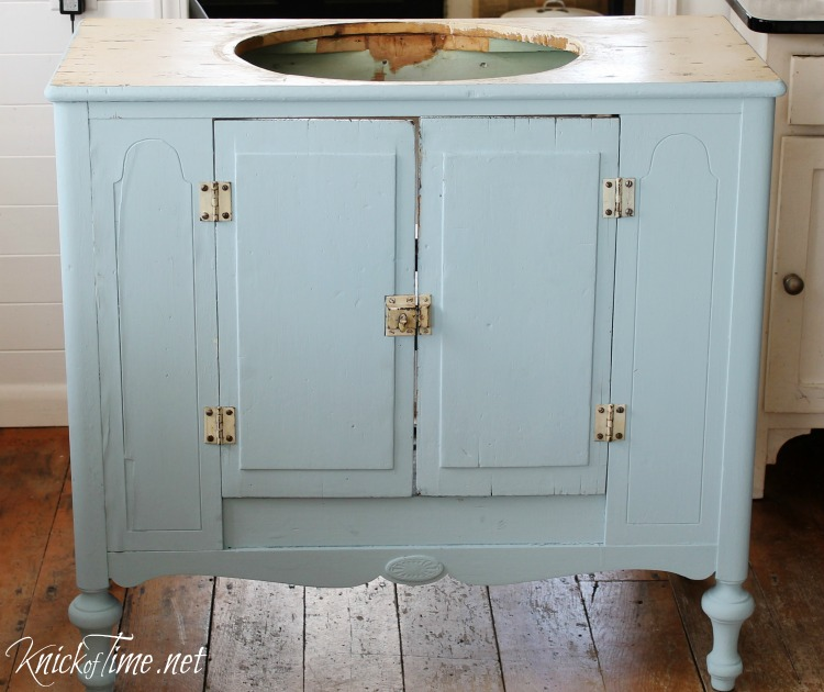 Etonnant Repurposed Cabinet Bathroom Vanity