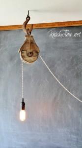 Barn Pulley Light