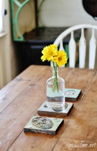 Scrap Wood Table Trivets