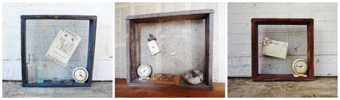 chicken nesting crates with hardware cloth