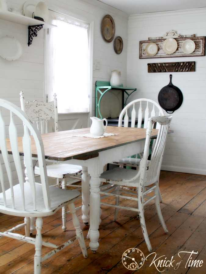 farmhouse style kitchen table. farmhouse table - knickoftime.net style kitchen