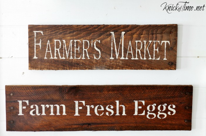 A Fresh New Batch Of Farmhouse Signs Knick Of Time