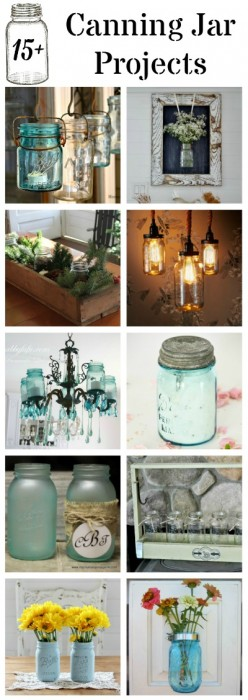 Canning Jar Projects