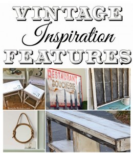 Vintage Inspiration Party #187 – Nautical Decor, Nesting Tables and more!