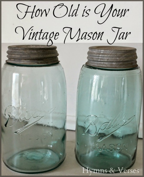 How Old is You Vintage Mason Jar