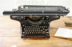 Underwood antique typewriter
