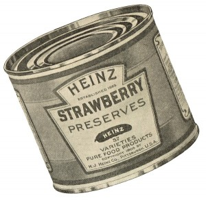 tin can label