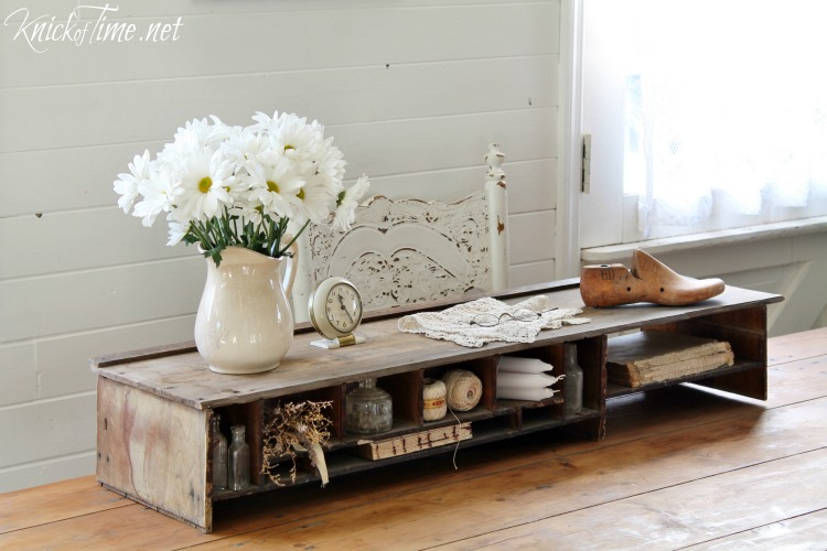 wooden cubby