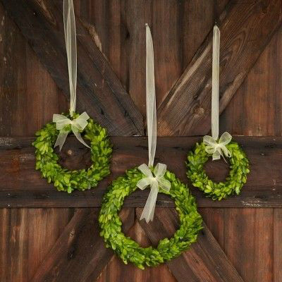 Decor Steals Design Ingenuity Event Boxwood Wreaths