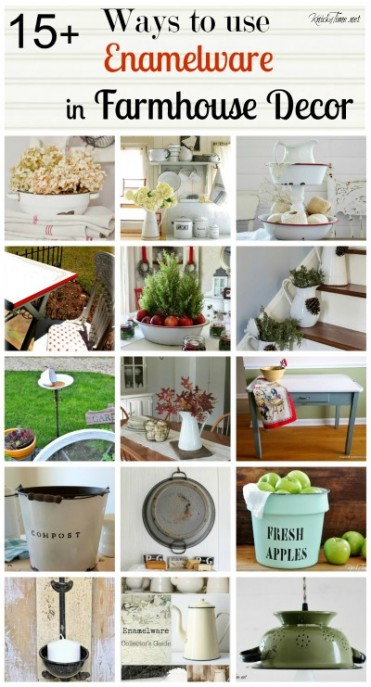enamelware farmhouse decor