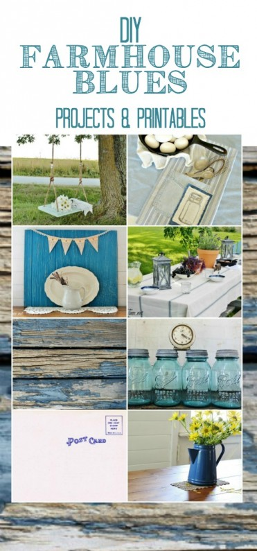 farmhouse blue projects and printables - KnickofTime.net