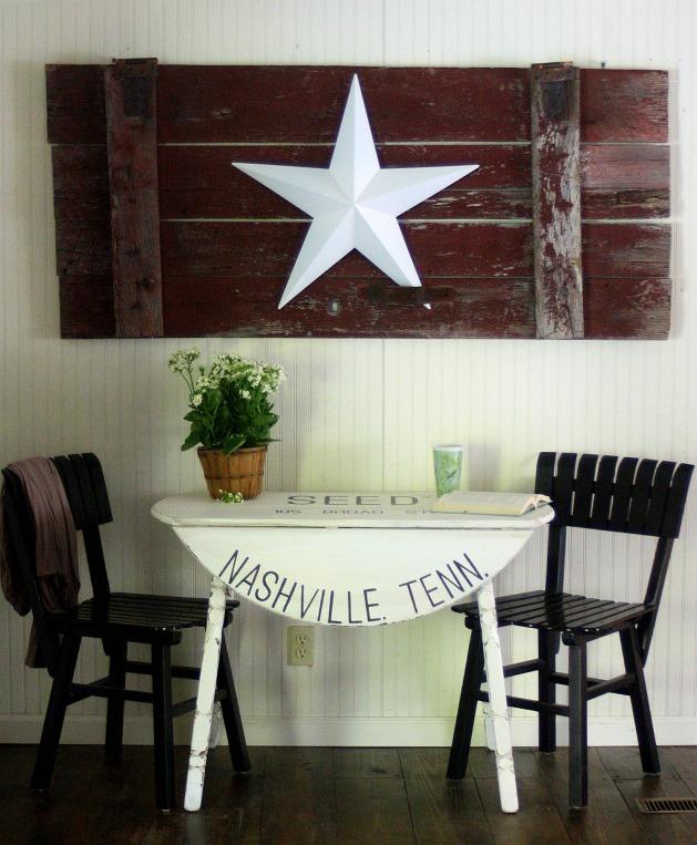 Farmhouse tables cotton sack drop leaf table