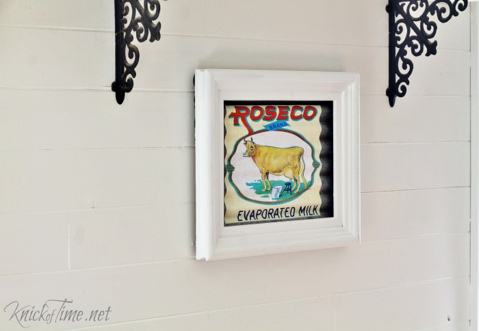 DIY Farmhouse Kitchen Wall Art Knick of Time