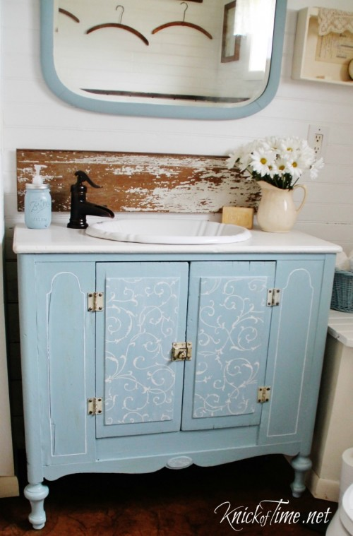 farmhouse bathrooms and projects - knick of time