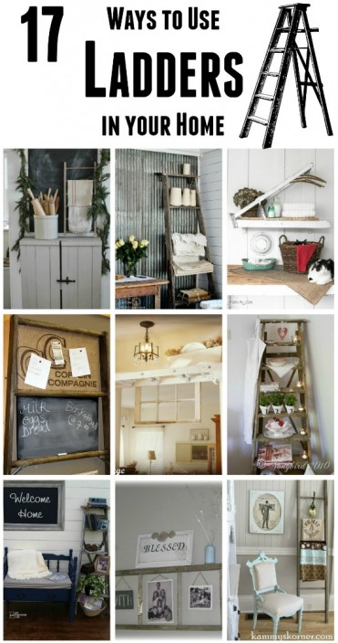 repurposed ladders