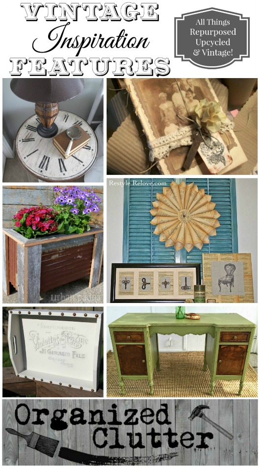 upcycled decor