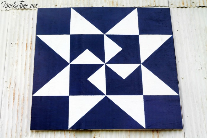 Diy Barn Quilt Via Knickoftime