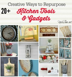 Farmhouse Friday #7 – Repurposed Kitchen Tools
