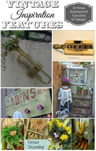 Vintage Inspiration Party – Handmade Signs, Garden Decor and More!