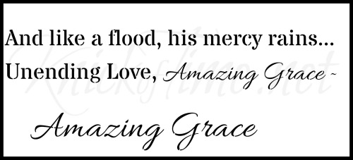 amazing grace lyrics sign