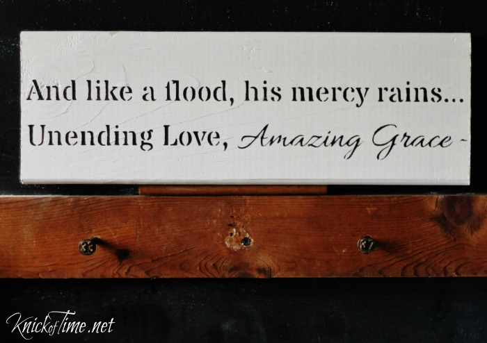 amazing grace lyrics sign stencil
