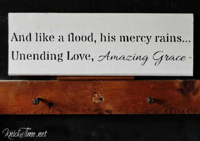 amazing grace lyrics sign stencil