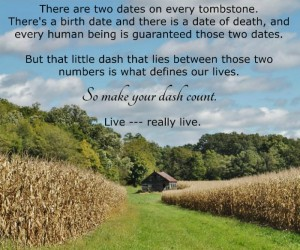 Make Your Dash Count