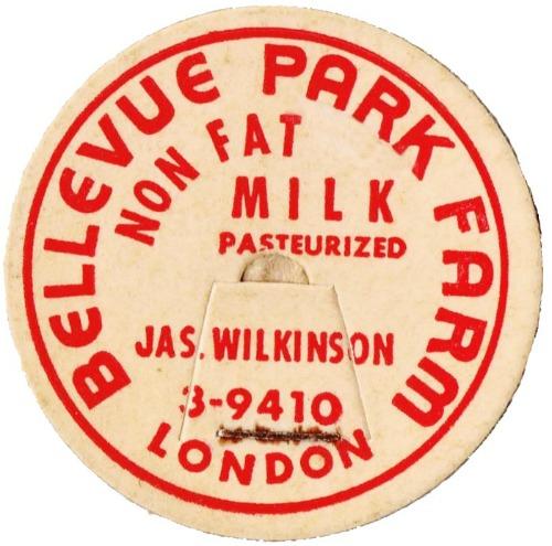 bottle cap London dairy
