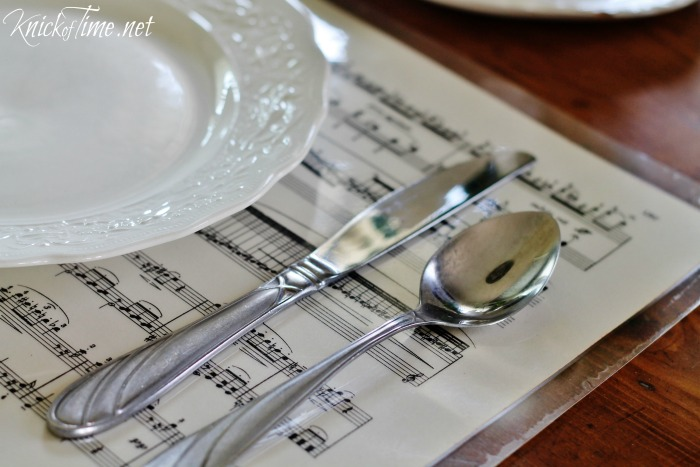 sheet music projects