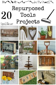 Farmhouse Friday #6 – Repurposed Tools