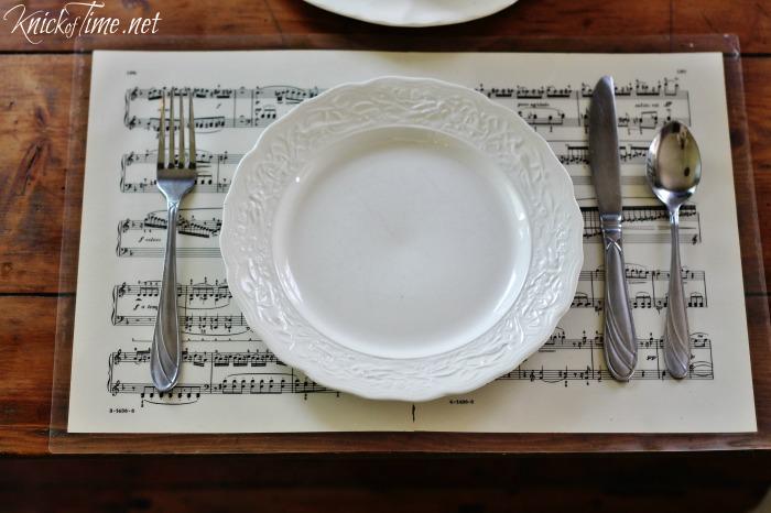 repurposed sheet music