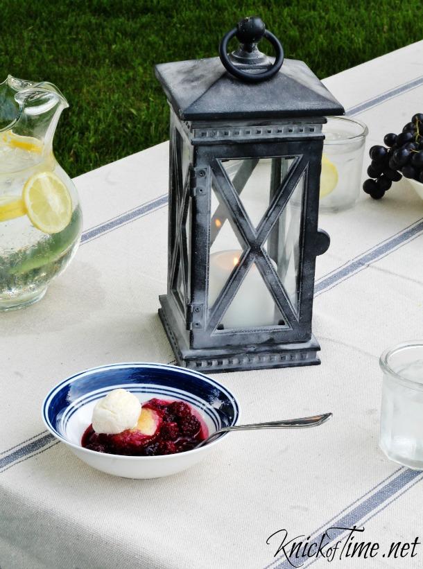 vintage style candle lantern - KnickofTime.net