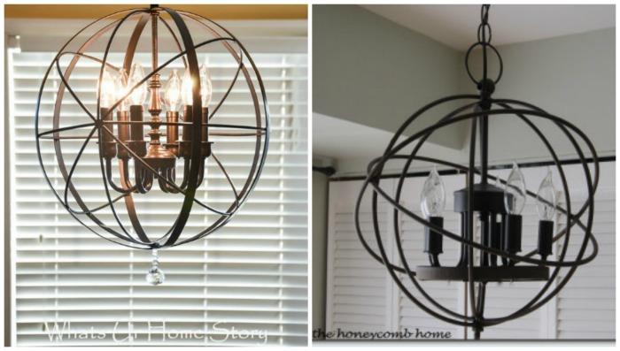 30 farmhouse lighting ideas via knick of time orb lights aloadofball Images